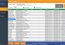 Phần mềm quản lý comment