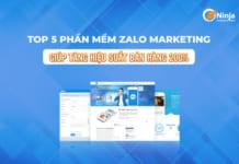 phần mềm zalo Top 5 phần mềm marketing hiệu quả nhất