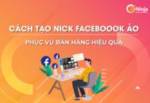 Cách tạo nick facebook ảo